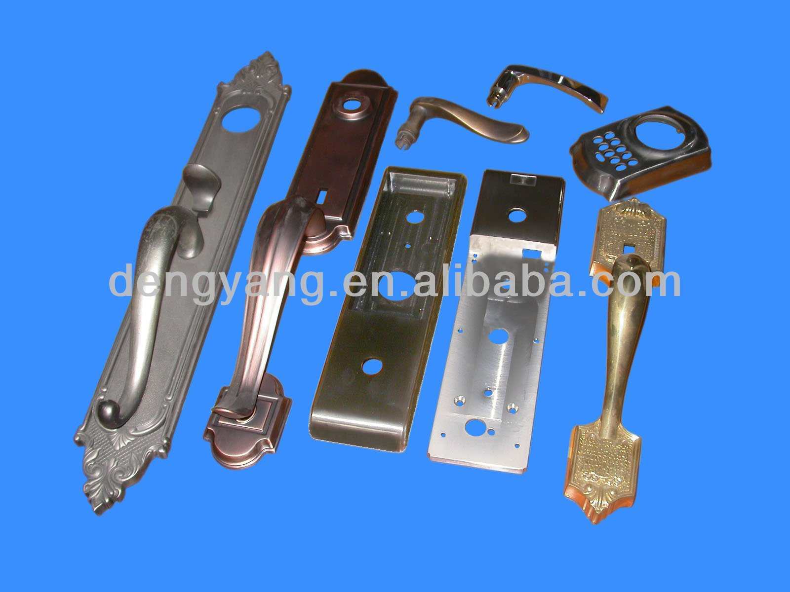 ODM Brass Door Handles and Door Plates