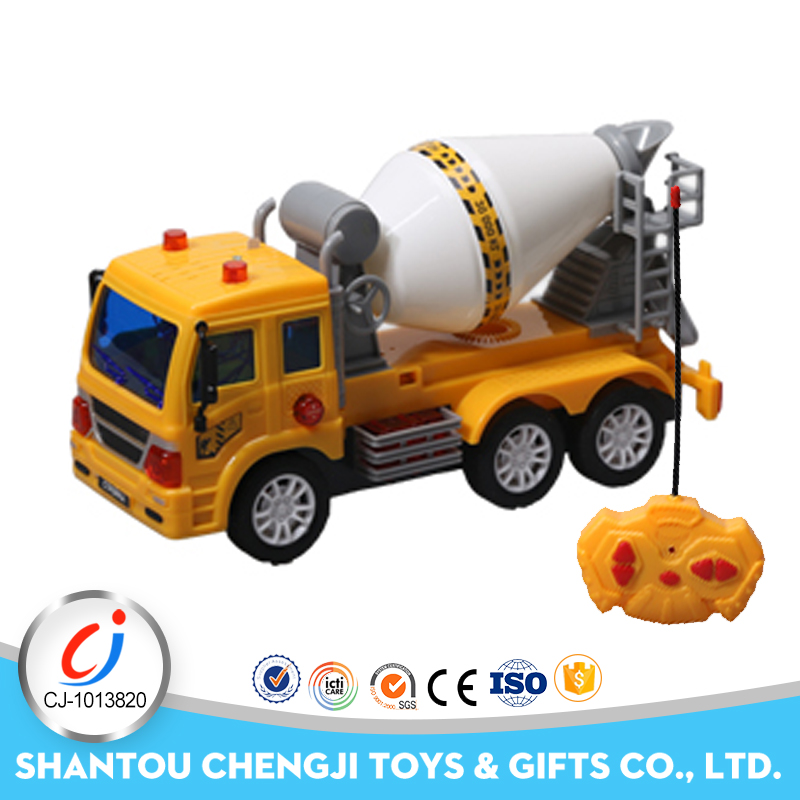 4ch mixer rc construction vehicles hand truck toy with light and music