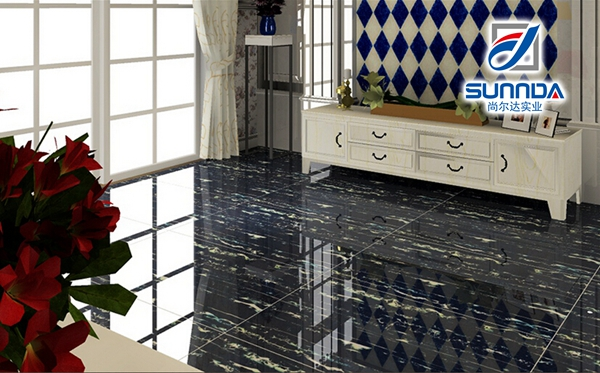 24x24 tuiles vernissées marbre avec pas cher prix noir marbre