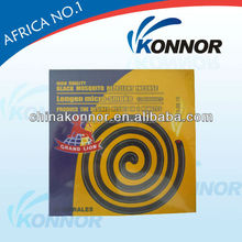 China KONNOR Chemical 122mm 8 hours Burning Time Mosquito Coil