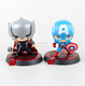 2017 new product make custom children toy for gift/customized halloween gifts superhero small action figure for home decoration