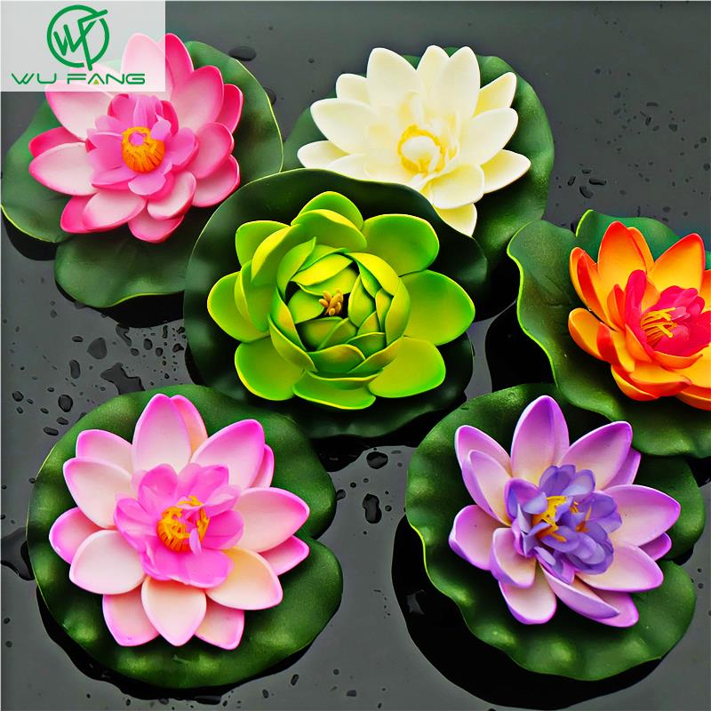 Water Lily Lotus Artificial Silk Plastic Flowers Weddirect