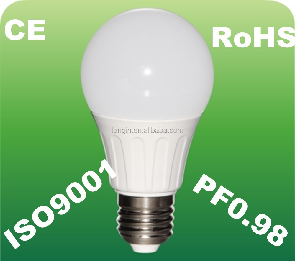 led lamp 360 degree to replace cfl lamp led W with high power factor 0.98
