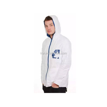 Beste Kwaliteit promotionele mens <span class=keywords><strong>Tyvek</strong></span> Jas <span class=keywords><strong>Tyvek</strong></span> hoody <span class=keywords><strong>jacket</strong></span>