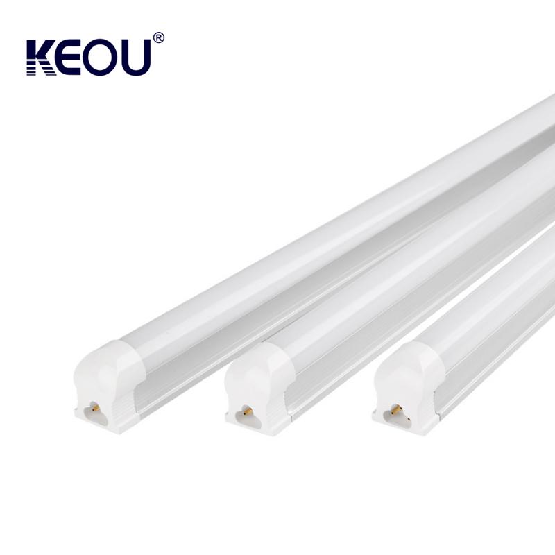 9 watt 13 watt 18 watt 25 watt 28 T8 led tube light SMD2835 clear & Milky cover