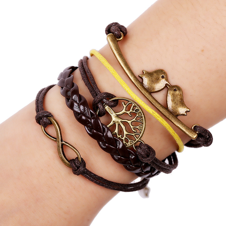 Aliexpress.com : Buy NEW Genuine Leather Bracelets Women ...