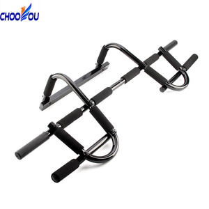 Workout Bar Pull Up Exercise Home Gym Door Adjustable Sports Fitness Equipments