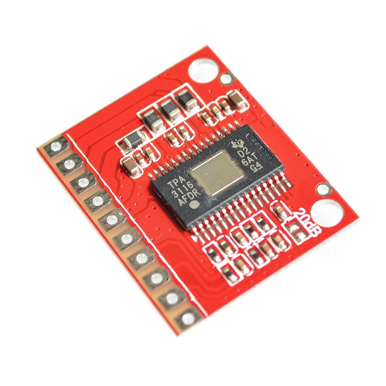 Seajunn 5PCS/LOT OEP50W2 Mini Digital Amplifier Board Module Diy Amplifier Kit 50Wx2 Super TDA7498 TPA3116D2