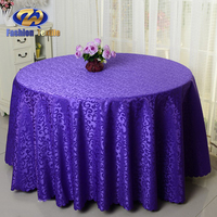 Hotel jacquard table cloth made in china
