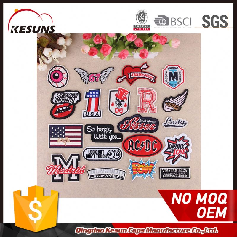 Custom Embroidery Patch For Dress Applique Work Design