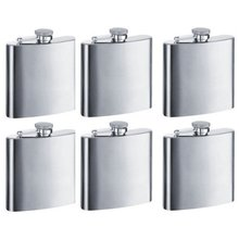 5oz stainless steel engraved pocket hip flask