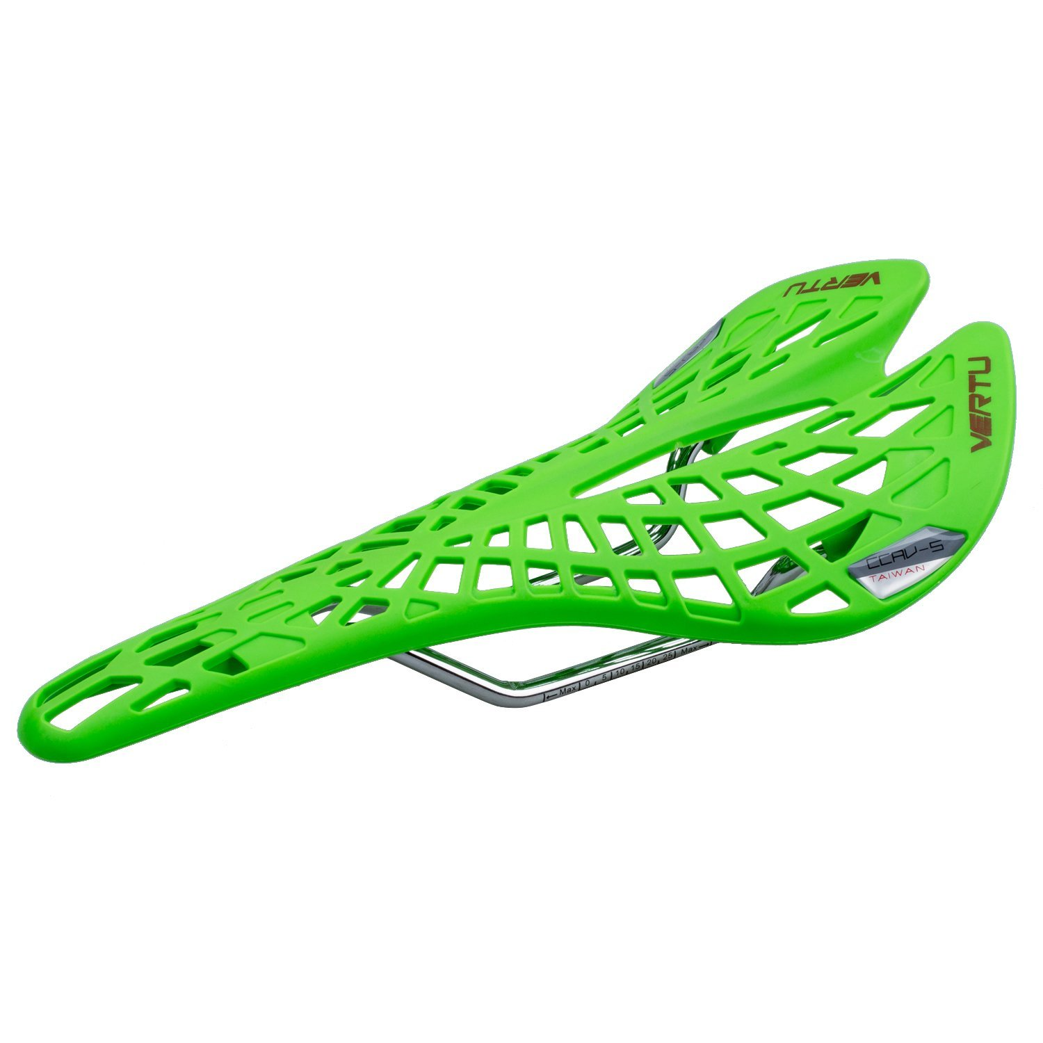 bicycle saddle - VERTU Super Comfortable Breathable MTB bicycle saddle touring saddle for ladies and gentlemen (green)