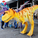 Carnival Outdoor And Indoor Silicone Rubber Realistic Dinosaur Costume