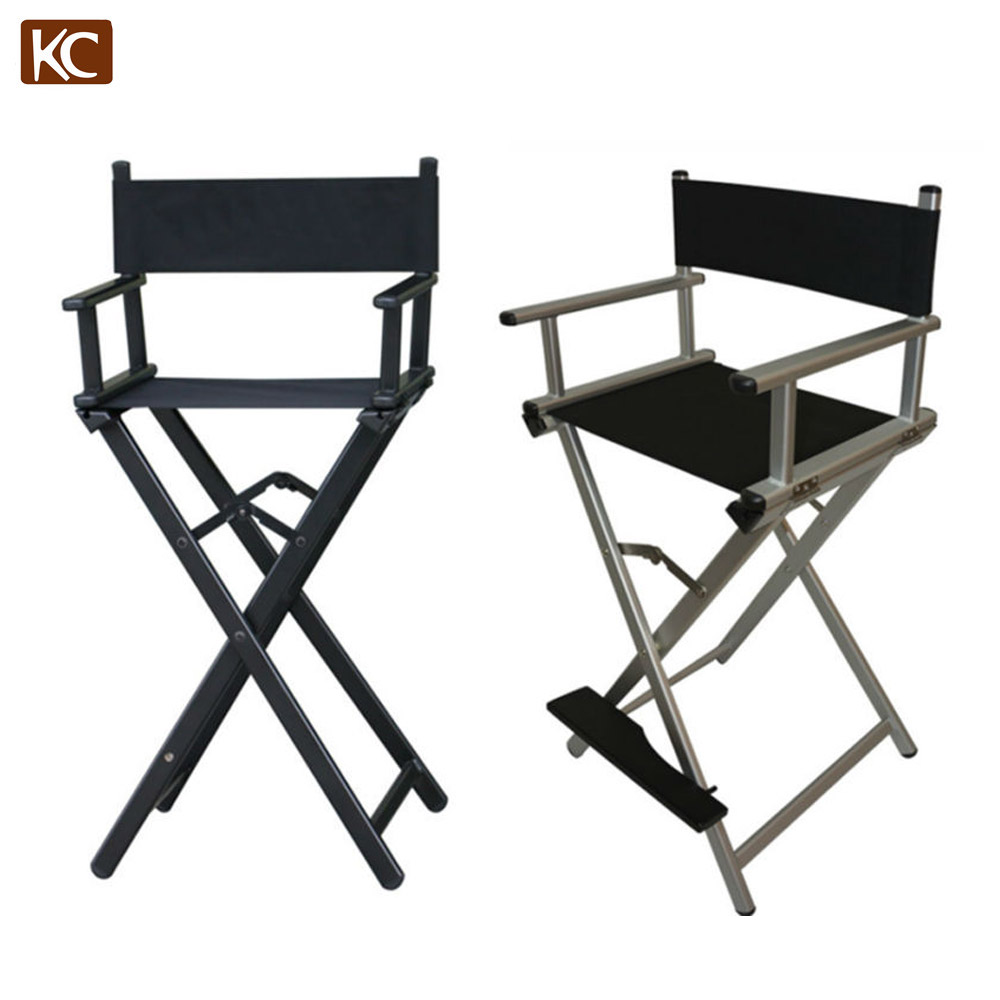 Folding Salon Aluminum Makeup Chair Artist Chair Many Colors & Three Different Size