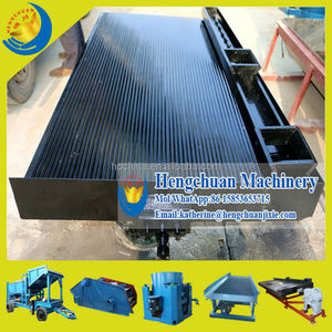 China Supplier Qingzhou Hengchuan Gold Separating Machine Mining Shaker Table, Shaker Table Price
