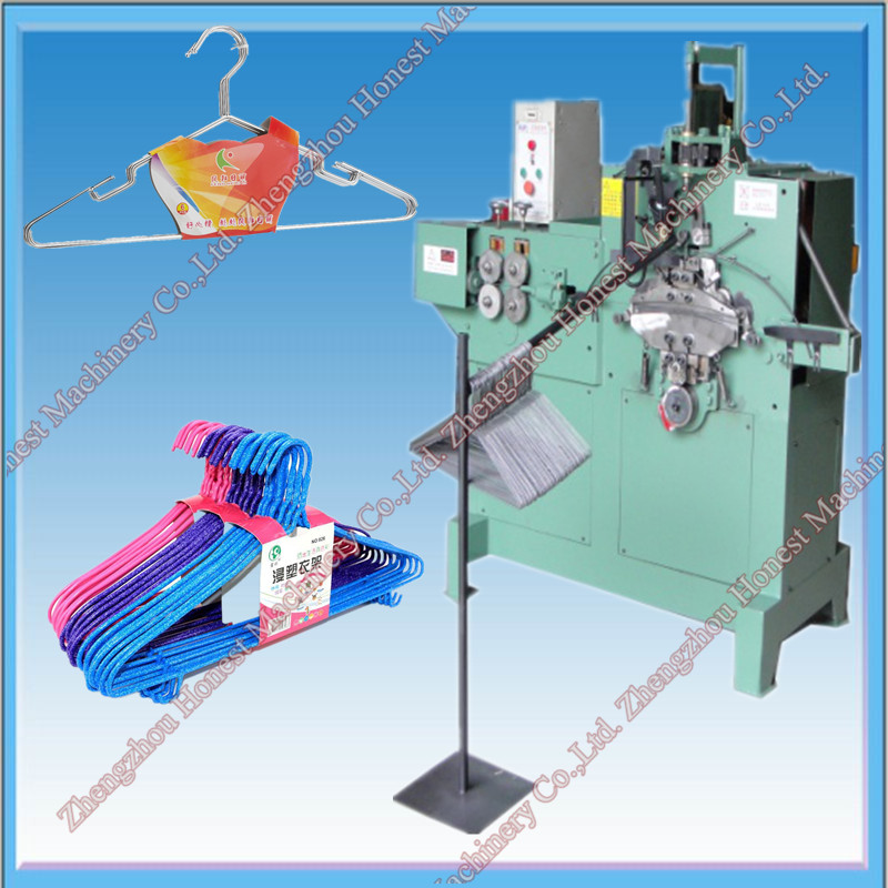 Automatic Galvanized Steel Wire Hanger Making Machine, Automatic ...