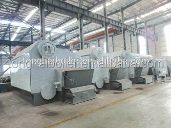 Low pressure small induction heating boiler