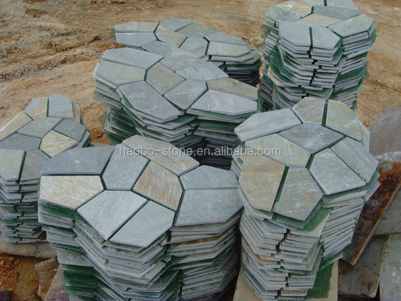 Haobo Stone Irregular Slate Pavers Lowes Buy Slate Pavers Lowes Haobo Stone  Irregular Slate Pavers Lowes