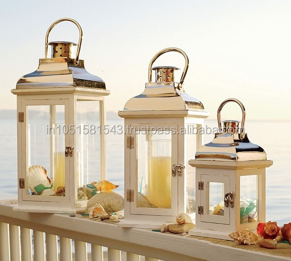 Hobby Lobby Hanging Candle Lanterns Antique Metal Lantern Grey Wood Product On