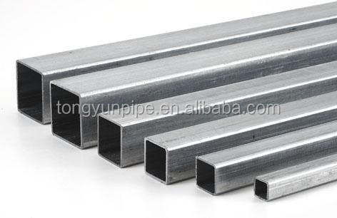 galvanized tube/square tube / steel profiles / SHS, RHS steel pipe for building material