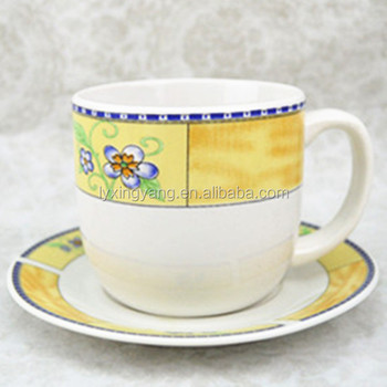 Coffee Cup And Saucer Set Large Tea Sets