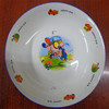 8'' cheap Restaurant Round ceramic plate/ceramic fruit plate/ceramic cake plate