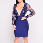 Wholesale High-End Summer Fashion Apparel Party Lady Women Bandage Dress