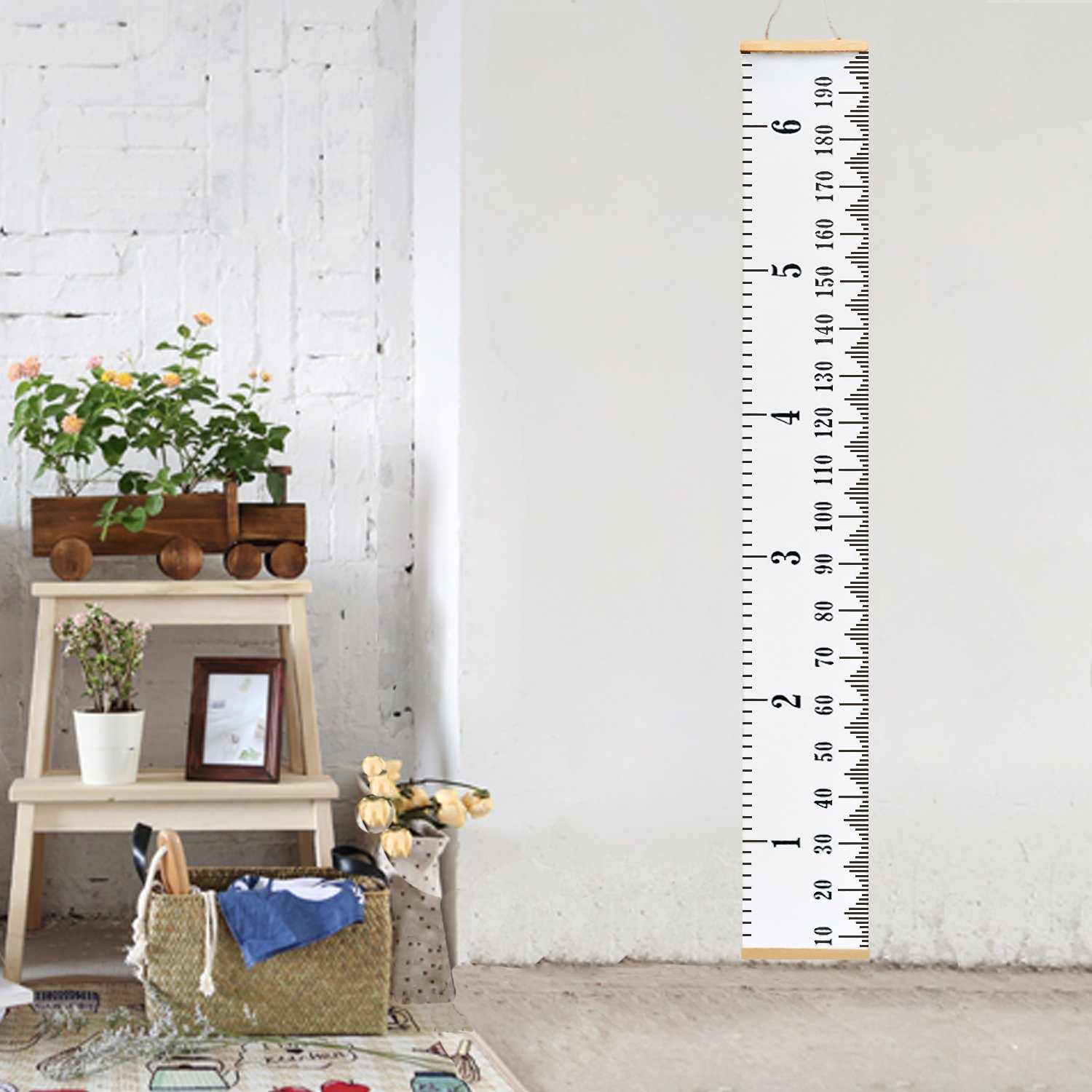 321Done Growth Chart Rocket Ship Outline Rocketship Outer Space Boys Nursery Wall Decor Kids Hanging Height Ruler Vinyl Banner Made in USA
