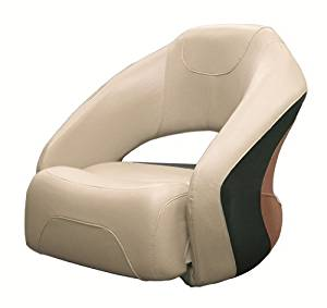Wise Pontoon Seat with Flip up Bolster/Ski Boat Bucket Seats/Boat Seat