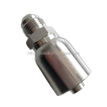 ss male one piece hydraulic union fittings
