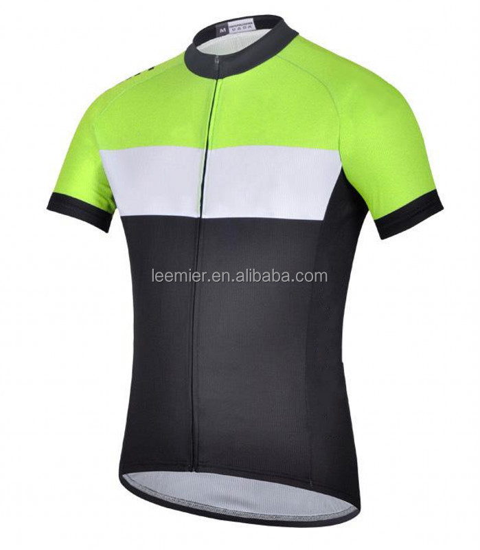 24620aaf8 New Style Yellow black Plain Cycling Jerseys shirts For Sale - Buy ...
