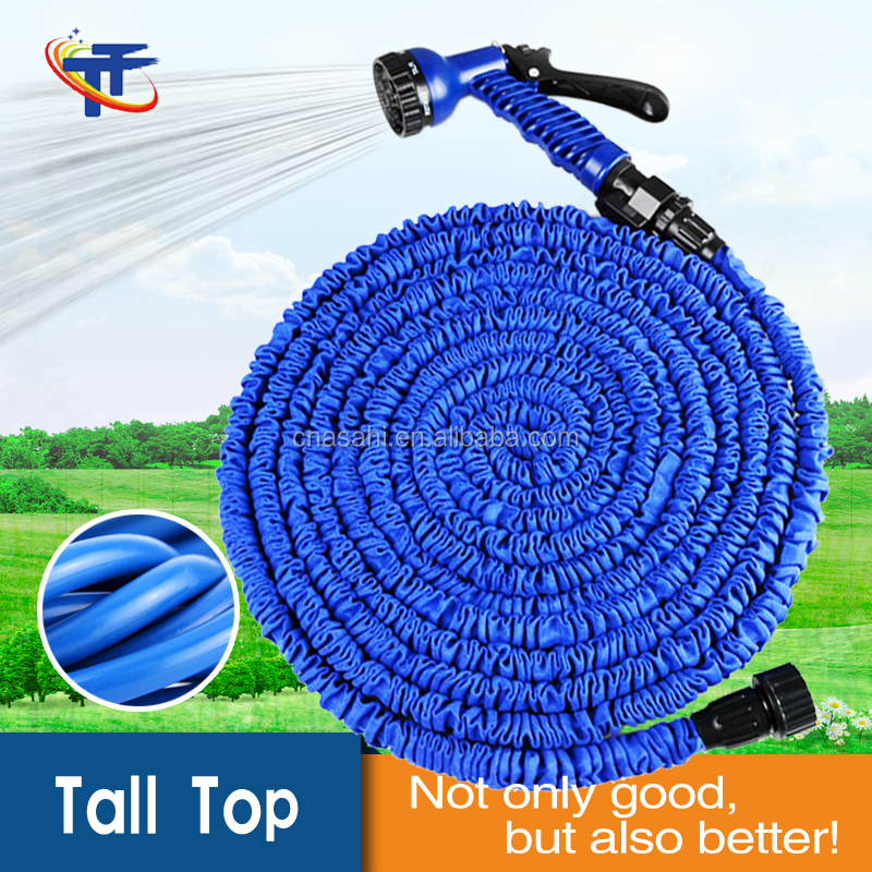 Tall-Top wholsale nature latex shirking magic garden water hose