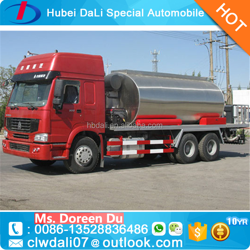 12-14 MT liquid asphalt transporting vehicle for road construction