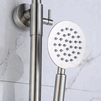 Bathroom Massage Faucets Parts Stainless Steel Shower Panel 304SUS Waterfall Rain Shower Faucets