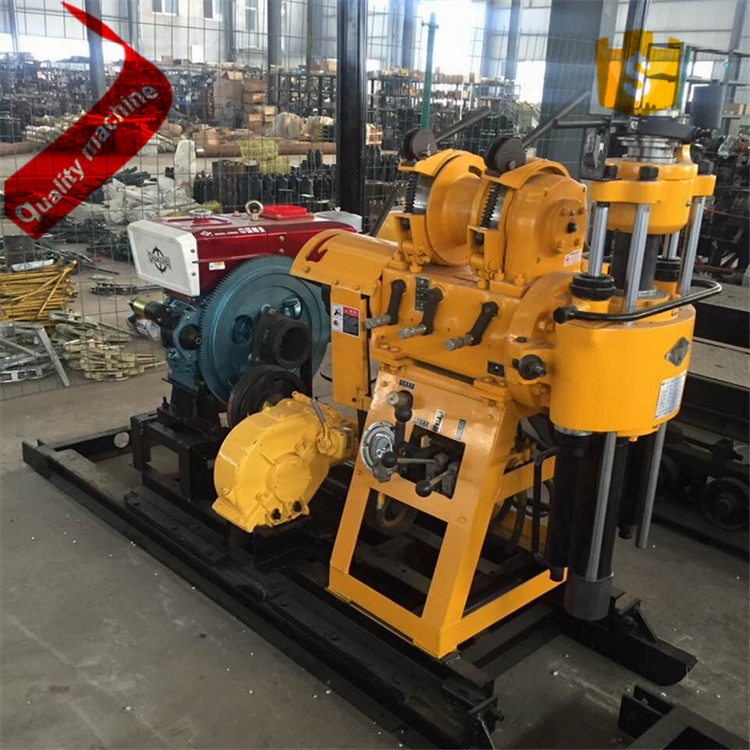 200m multifunctional Core Drill Rig For Mining Exploration