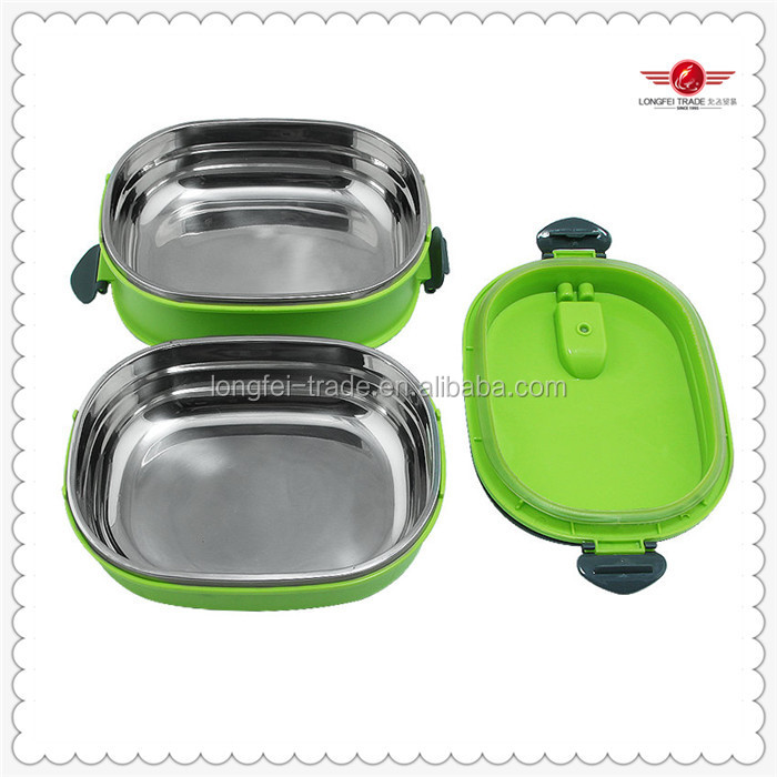 Kid Rectangular Insulated Stainless Steel Lunch Box