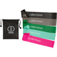 Set of 5 Premium-Quality Resistance Bands with Bag - Tone Legs and Glutes at Home or at The Gym