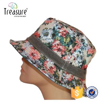 Custom funny printed wholesale black white bucket caps and hats cheap fish  man blank plain cotton c1fb0eb77c5
