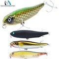 Maximumcatch Hard Baits Minnow Pike Bass Fishing 4 Floating Hard Fishing Lure with 4 premium treble
