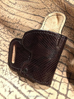 Ph5 - In Stock Genuine Python Leather Holster Gun for 1911 - 3inch RH