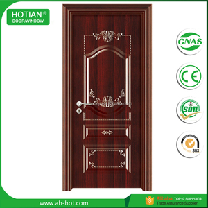 China New Design Best Price safety hollow metal doors front safety door design