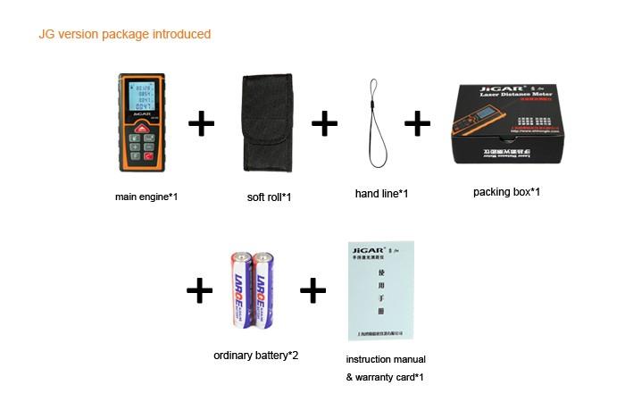 Laser Entfernungsmesser Diy : Jg oem laser entfernungsmesser mt indoor diy meter usb