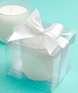 <em>Perfectly Plain Collection</em> Candle Favors, 1