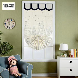 China Supplier Light Adjusting Elegant Cartoon Roman Blind For Children Room