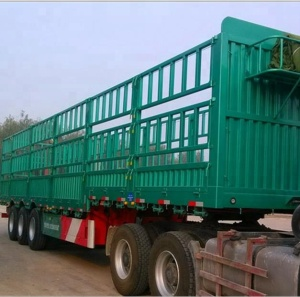 China factory price fence damper stake cargo semi trailer
