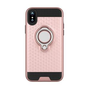New Ring 3d 3 in 1 TPU PC 360 Degree Mobile Phone Case for Iphone 9 Plus Shockproof 6.5 inch Luxury Fashion Case