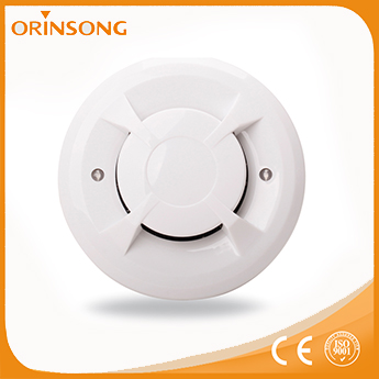 Cheapest Factory Price Cigarette Alarm 4 Wire Smoke Detector With Dustproof
