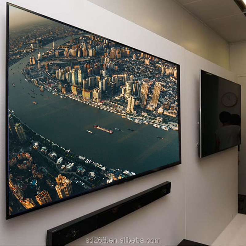 Wholesale price 55 65inch Smart LED TV 4K Ultra HD television set led