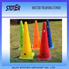 Roadblock plastic sports training marker cones with holes