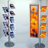 Exhibition Literature Stand : Brochure stands dubai brochure stands dubai suppliers and